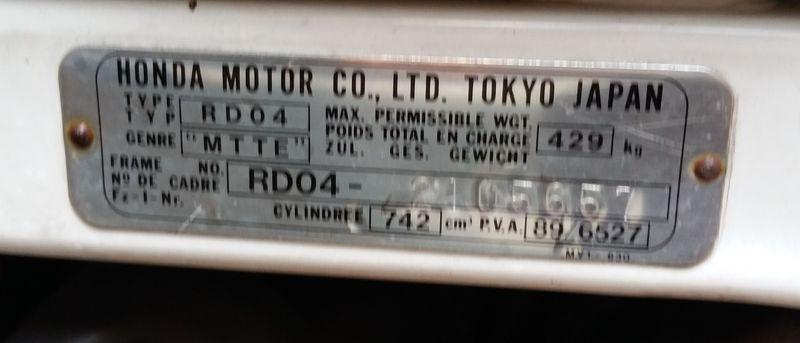 [VENDUE] RD04, 1991, 93.000 km, râpée par une glissouille RD04-img09