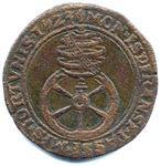 Jeton (retaillé) de l'empereur Charles Quint, pour les Pays-Bas ... RP-00830a