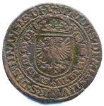 Jeton (retaillé) de l'empereur Charles Quint, pour les Pays-Bas ... RP-00830b