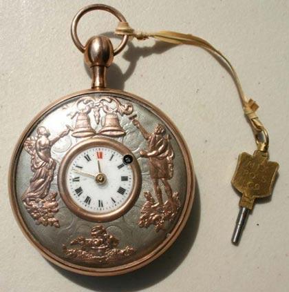 Džepni satovi - Page 3 Automaton-Pocket-Watch