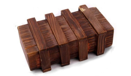 Japanska puzzle box - kutija tajni Mechancial-wooden-puzzle-box