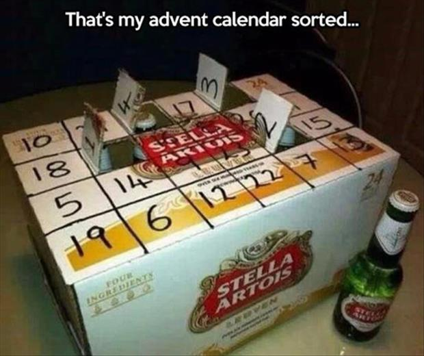 The is it Christmas yet flowchart A-The-beer-advent-calendar
