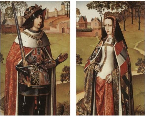La península Ibérica entre 1504 y 1517 Juana-la-loca-y-Felipe-el-hermoso