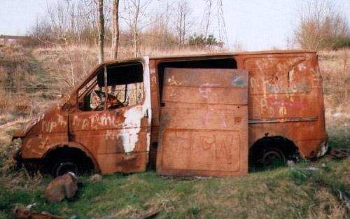 arabalar Burnoutvan