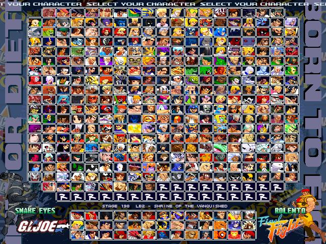 [SP] Marvel vs Dc vs SNK vs Capcom 1.0 Mvdvsvc-v1.0b
