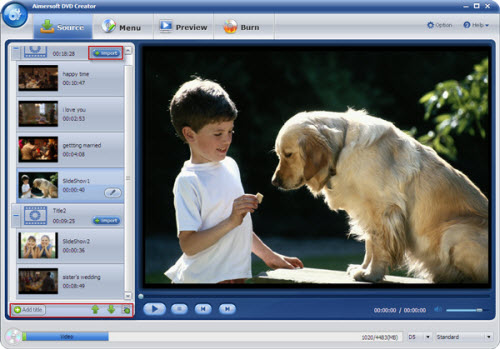 How to burn WMV videos to DVD disc? Step-load%20videos