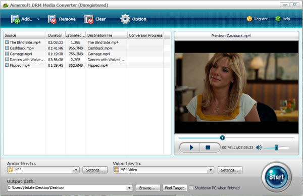 How to convert DRM protected WMV files? Remove-drm