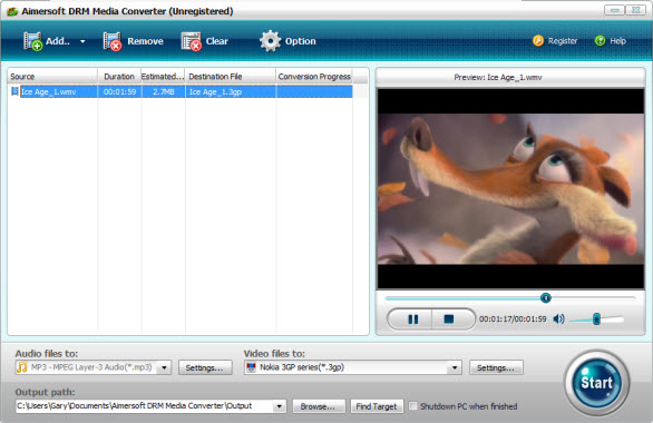 How to remove DRM protection from iTunes? Step-add-files