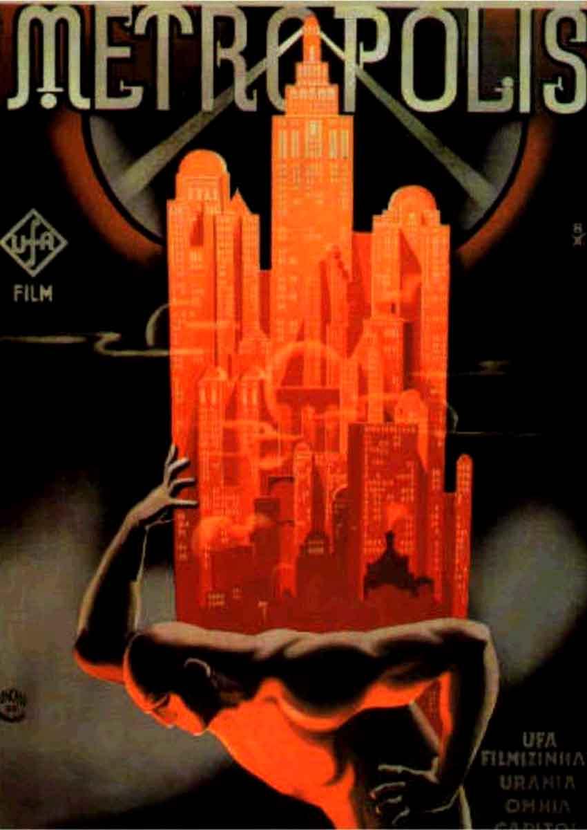 Les plus belles affiches de cinéma Metropolis1