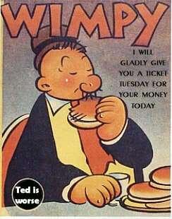 Popeye ne mangeait pas que des épinards… Wimpy