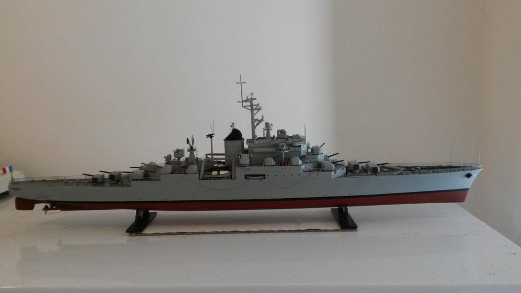 Croiseur DE GRASSE 1957-60 Réf 862 1