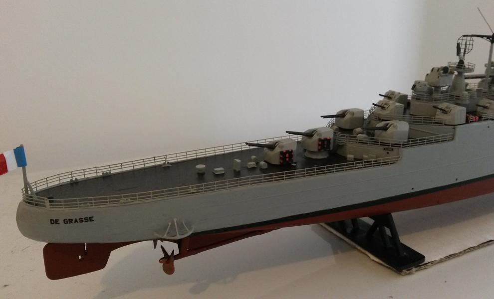 Croiseur DE GRASSE 1957-60 Réf 862 5