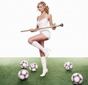 Soirée foot Football_girl