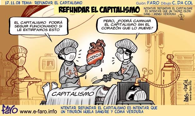 Humor gráfico contra el capitalismo, la globalización, la mass media occidental y los gobiernos entreguistas... 081117.corazon.capitalismo