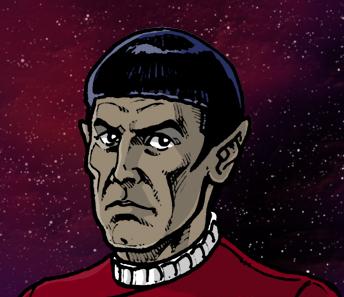 [muet]Fanfilm animé sur l'Enterprise Spock-qv1lg