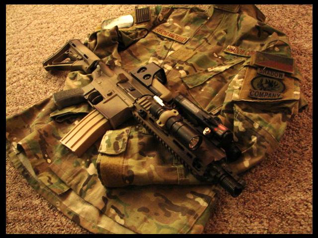 ابني جيشك الخاص بأي سلاح تريد  - صفحة 2 HK416