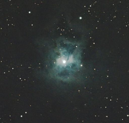 NGC7023, nébuleuse de l'Iris NGC7023_020611_detail