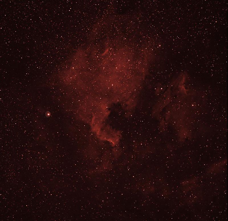 NGC7000 en HAlpha à Namur Ngc7000_halpha_120708