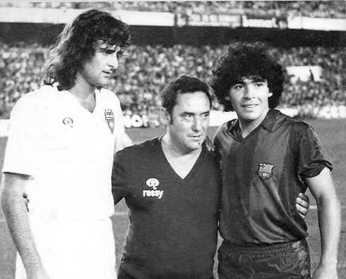 ¿Cuánto mide Diego Armando Maradona? - Altura - Real height 1510201519181445802a