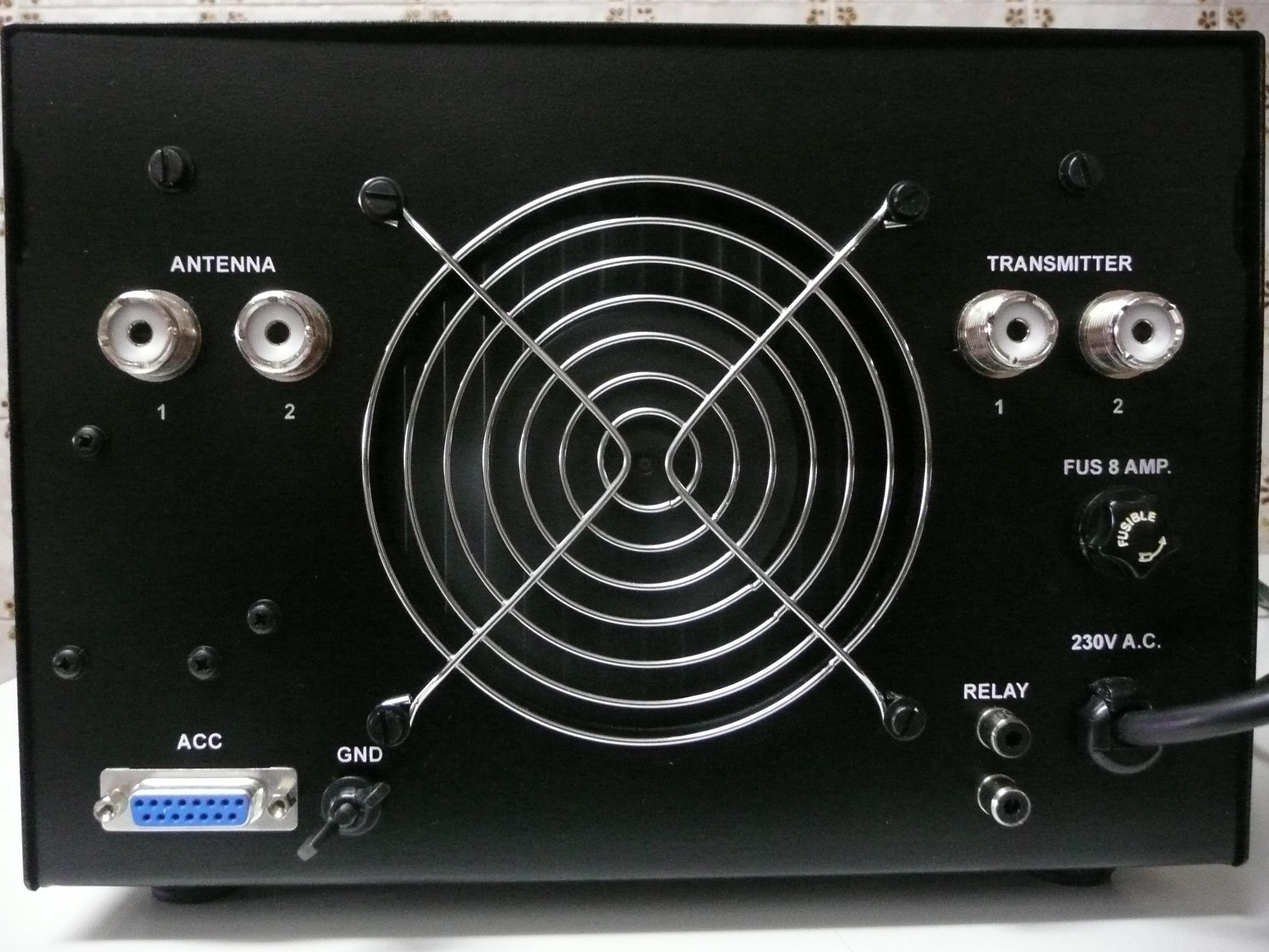 Amplificateur HF à transistors de EA4BQN P1010964