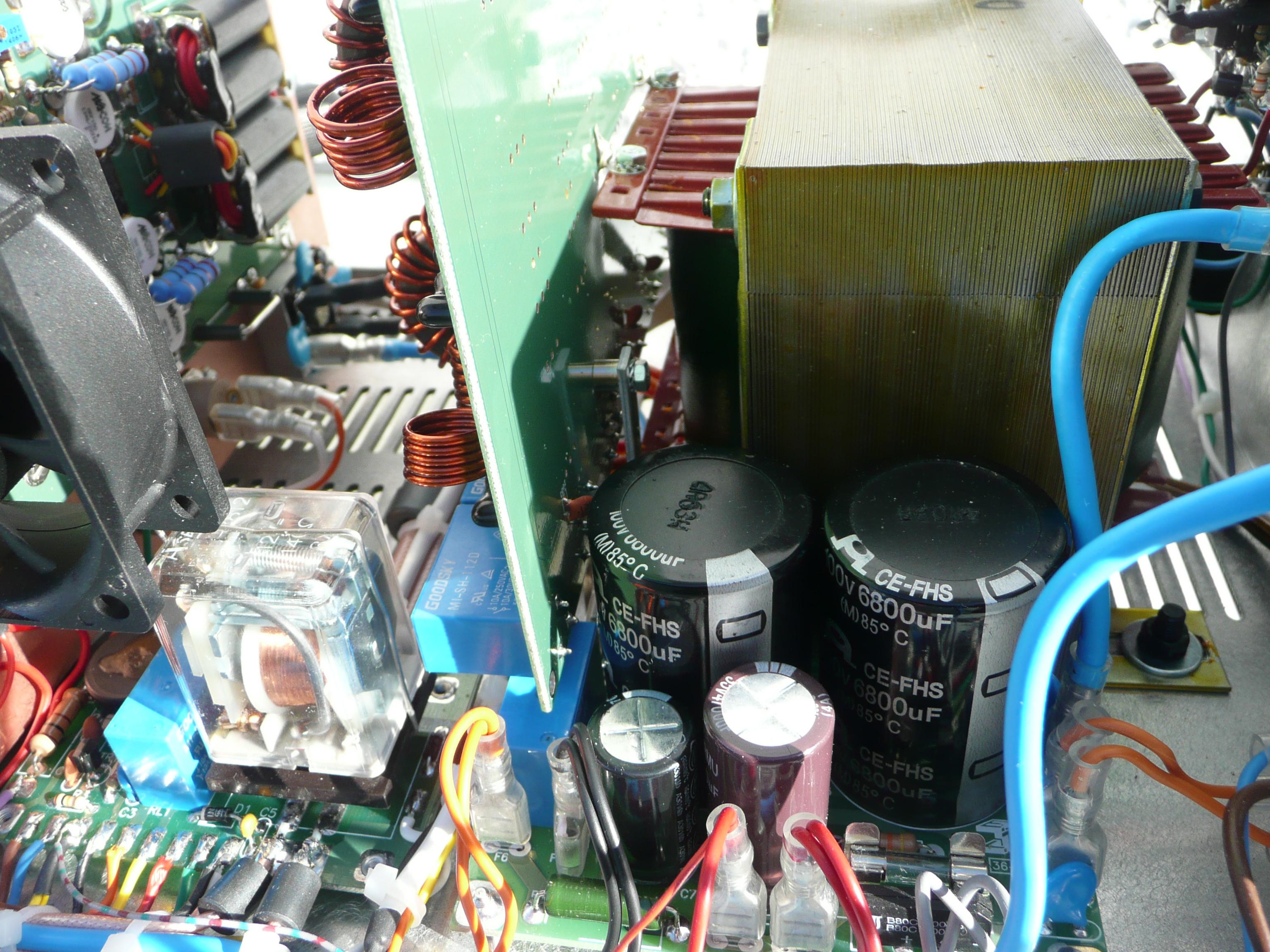 Amplificateur HF à transistors de EA4BQN P1010965