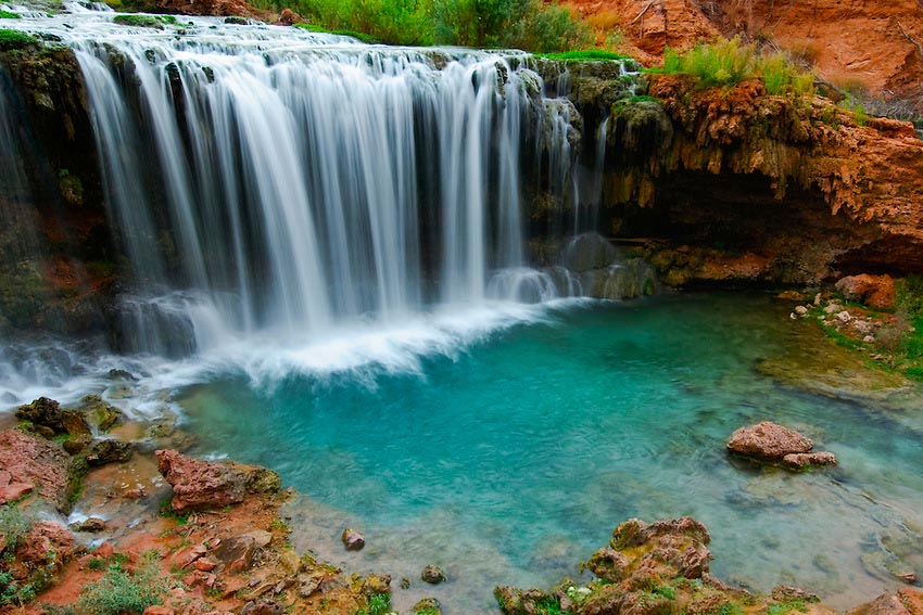 World's Most Amazing Waterfalls to Take a Cool Dip Under Rock-Falls-sRGB