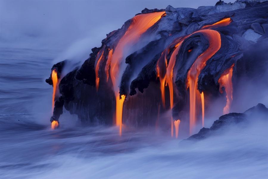 World's Most Stunning Volcanoes Volcano-water