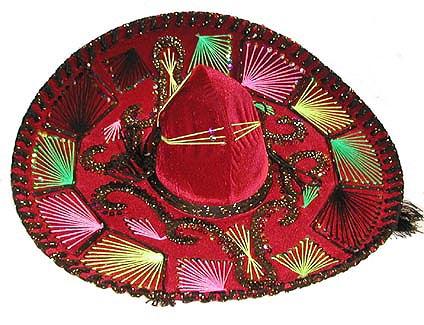 Meksiko - Page 5 SombreroRed