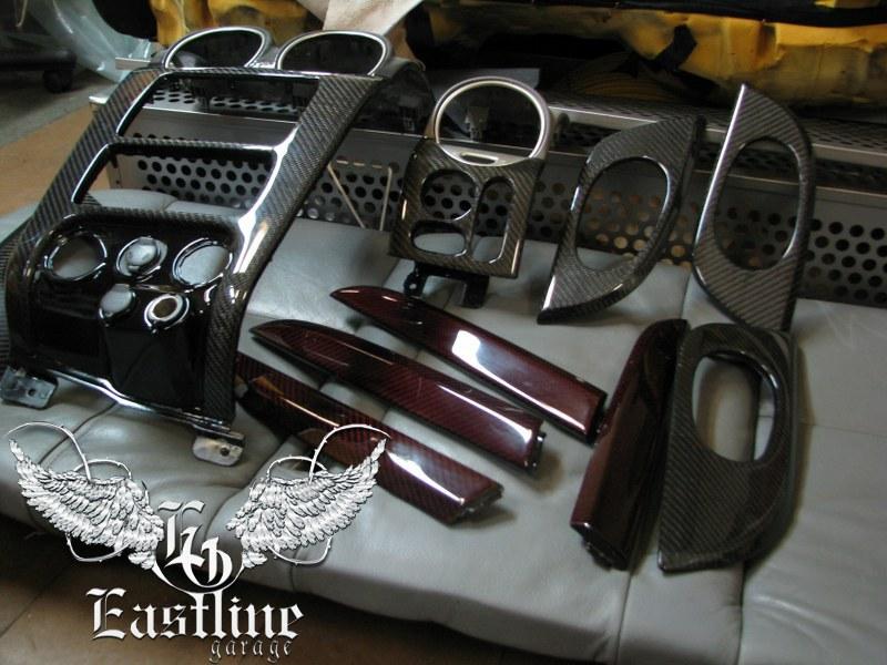 Тюнинг-ателье Eastline Garage. Самоклеющаяся алькантара и кожзам! 93