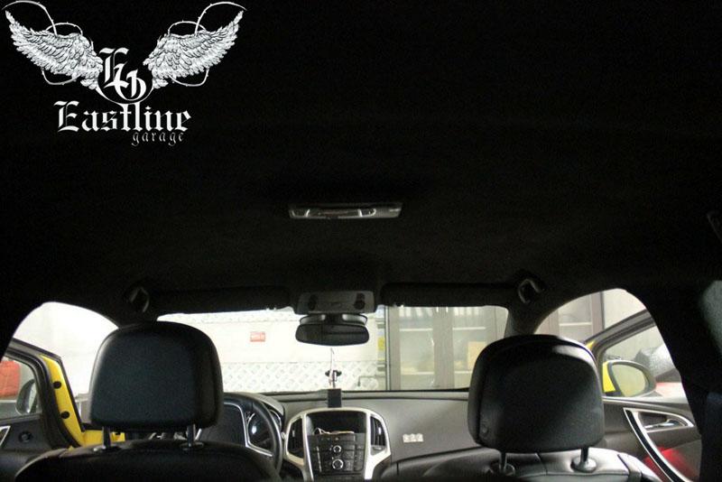 Тюнинг-ателье Eastline Garage. Самоклеющаяся алькантара и кожзам! 2.2