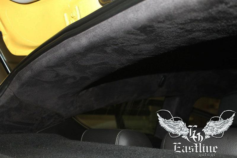 Тюнинг-ателье Eastline Garage. Самоклеющаяся алькантара и кожзам! 3.3