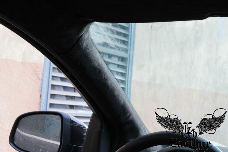 Тюнинг-ателье Eastline Garage. Самоклеющаяся алькантара и кожзам! F14