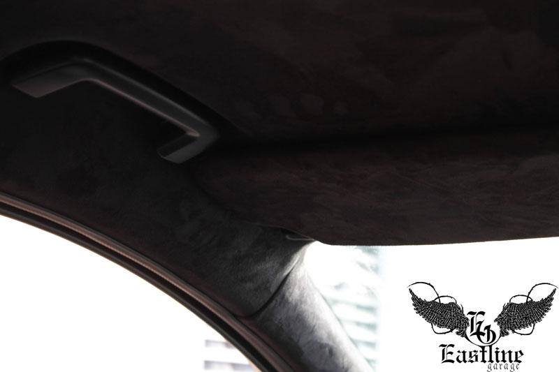 Тюнинг-ателье Eastline Garage. Самоклеющаяся алькантара и кожзам! F16