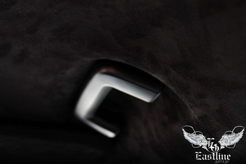 Тюнинг-ателье Eastline Garage. Самоклеющаяся алькантара и кожзам! F17