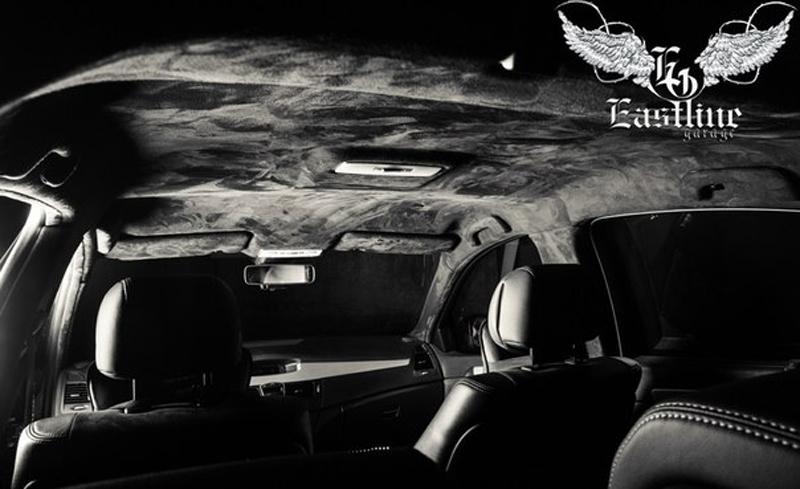 Тюнинг-ателье Eastline Garage. Самоклеющаяся алькантара и кожзам! 3