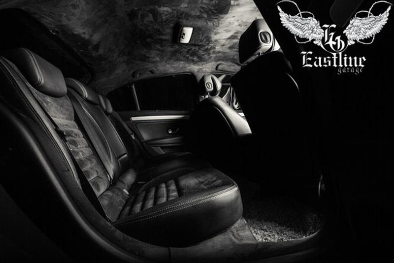 Тюнинг-ателье Eastline Garage. Самоклеющаяся алькантара и кожзам! 4