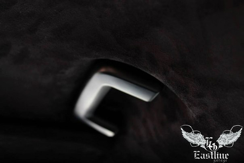 Тюнинг-ателье Eastline Garage. Самоклеющаяся алькантара и кожзам! 7