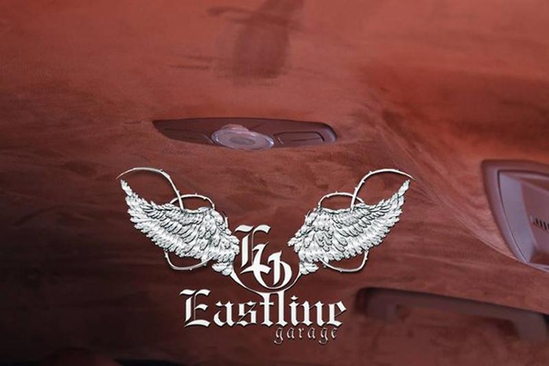 Тюнинг-ателье Eastline Garage. Самоклеющаяся алькантара и кожзам! 8
