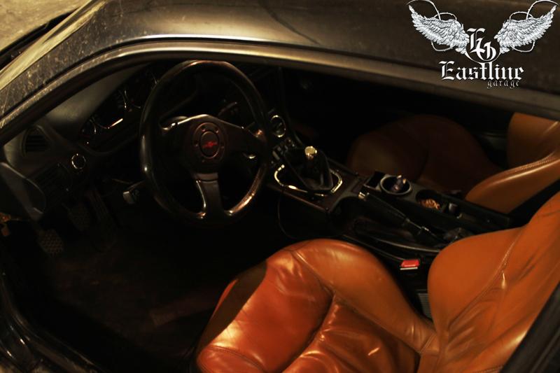 Тюнинг-ателье Eastline Garage. Самоклеющаяся алькантара и кожзам! 23.1