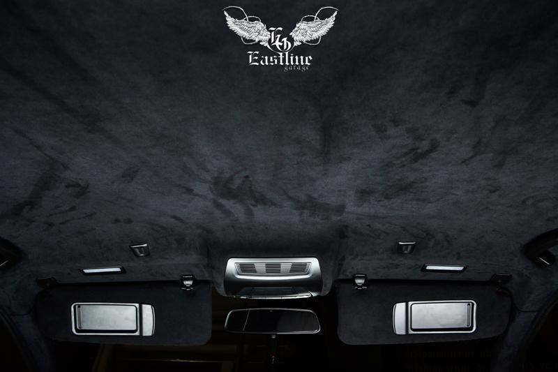 Тюнинг-ателье Eastline Garage. Самоклеющаяся алькантара и кожзам! 30