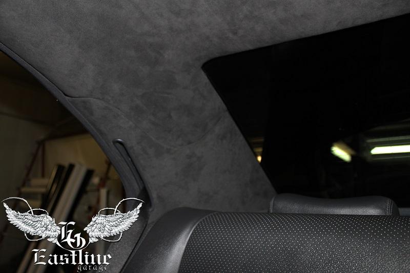 Тюнинг-ателье Eastline Garage. Самоклеющаяся алькантара и кожзам! 52