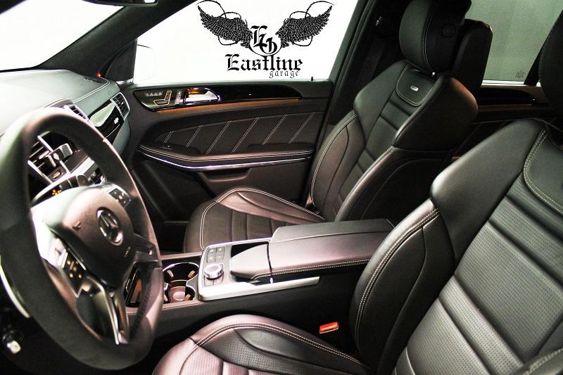 Тюнинг-ателье Eastline Garage. Самоклеющаяся алькантара и кожзам! 65