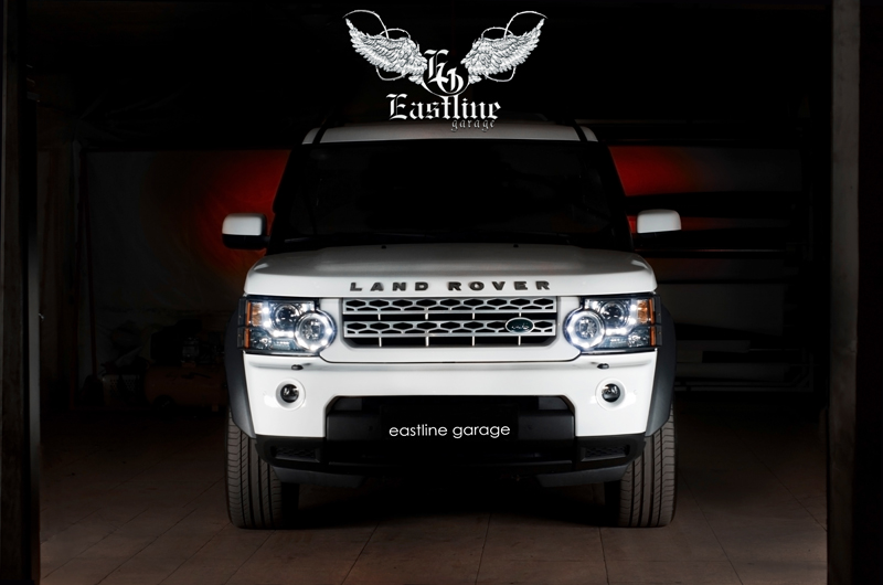 Тюнинг-ателье Eastline Garage. Самоклеющаяся алькантара и кожзам! 113