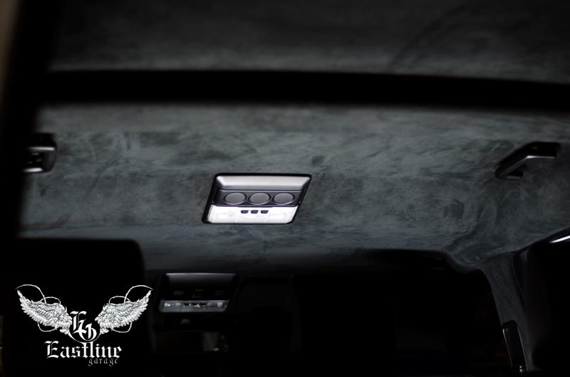 Тюнинг-ателье Eastline Garage. Самоклеющаяся алькантара и кожзам! 114
