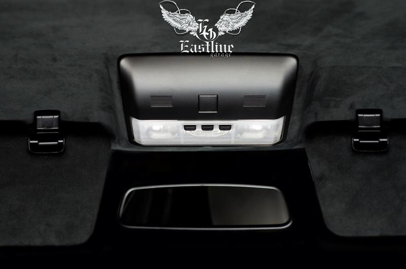 Тюнинг-ателье Eastline Garage. Самоклеющаяся алькантара и кожзам! 141