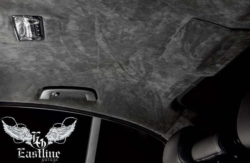 Тюнинг-ателье Eastline Garage. Самоклеющаяся алькантара и кожзам! 45