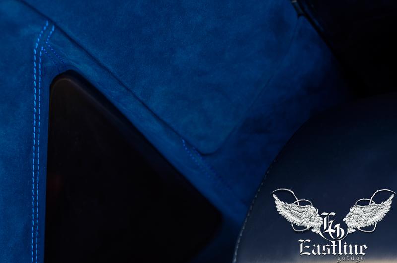 Тюнинг-ателье Eastline Garage. Самоклеющаяся алькантара и кожзам! 73