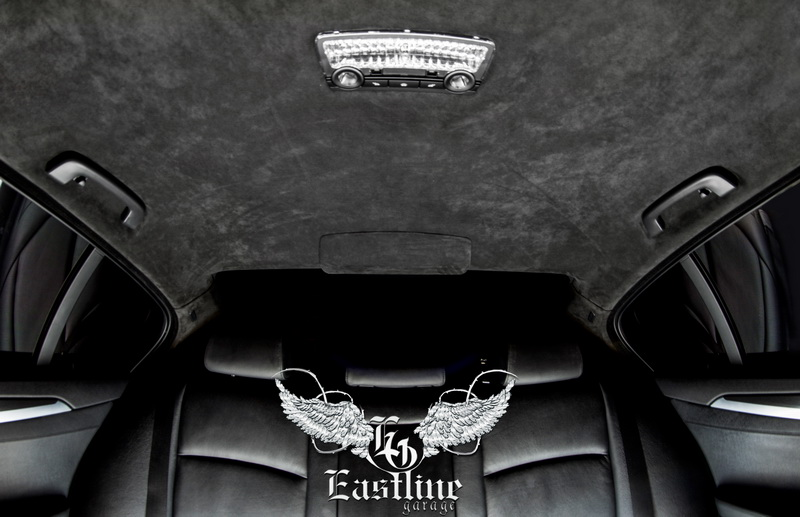 Тюнинг-ателье Eastline Garage. Самоклеющаяся алькантара и кожзам! 75