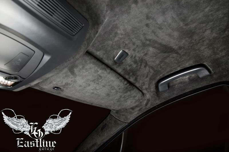 Тюнинг-ателье Eastline Garage. Самоклеющаяся алькантара и кожзам! 85