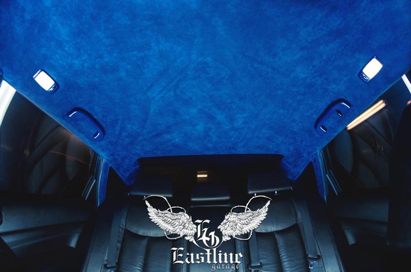 Тюнинг-ателье Eastline Garage. Самоклеющаяся алькантара и кожзам! 92